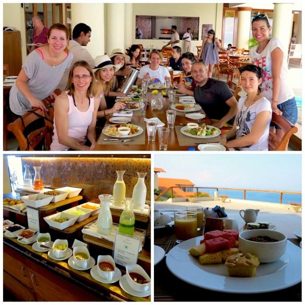 Desayuno Leela Hotel Kerala