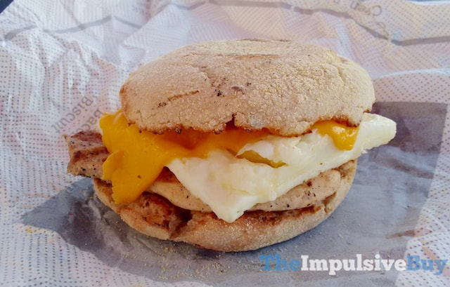 Chick-fil-A Egg White Grill Breakfast Sandwich