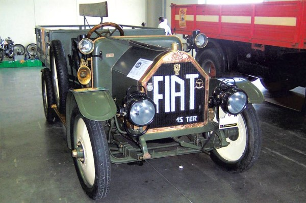 Fiat 15 Tier дал жизнь будущему заводу имени Лихачева
