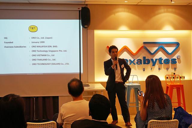 Akira Hirose from ORO Malaysia