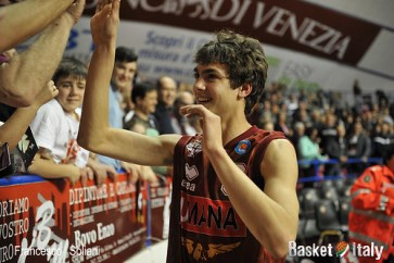 Reyer - Trento: Riccardo Visconti