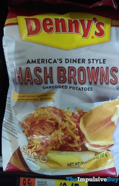 Denny's America's Diner Style Hash Browns Shredded Potatoes