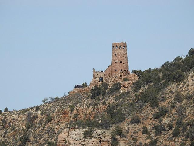 Гранд каньон и часовая башня