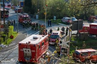 Waldbrand Bad Schwalbach 22.04.2015