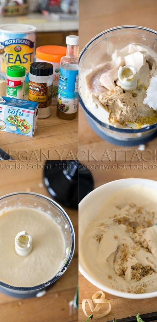 Creamy Quinoa popper filling