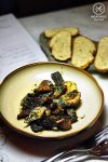 Sauteed Foraged Pine and Slippery Jack Mushrooms