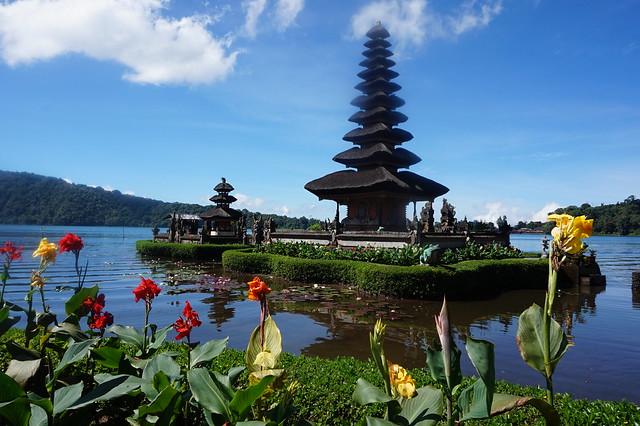 Templo del agua en Bali