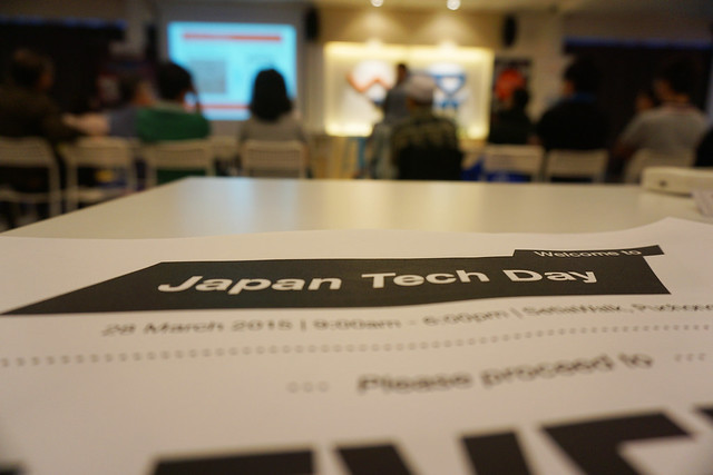 Japan Tech Day 2015 event photo