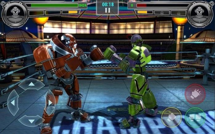 real steel champions android juegos