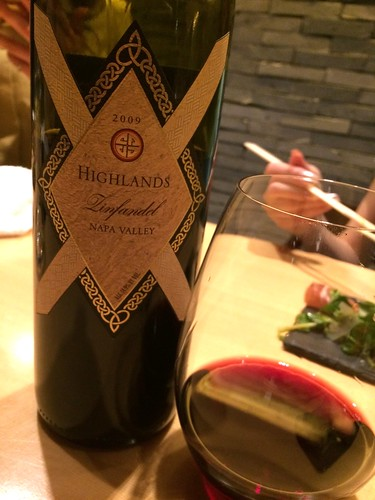 Highlands Zinfandel Napa Valley@瀧口
