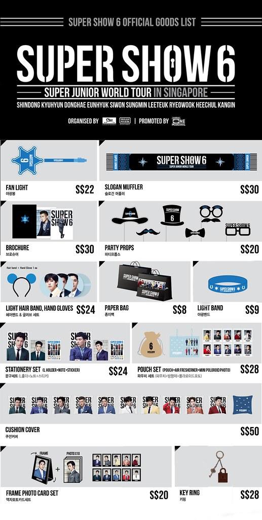 SS6SG Merchandise