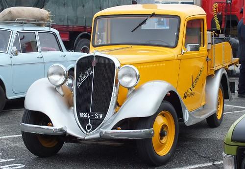 Fiat Balilla Front