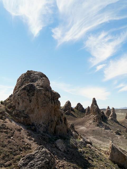 Pinnacles and Sky