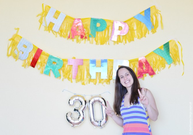 Aniversário 30 anos 2