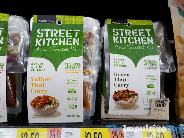 Passage Foods Street Kitchen Asian Scratch Kit (Yellow Thai Curry and Green Thai Curry)
