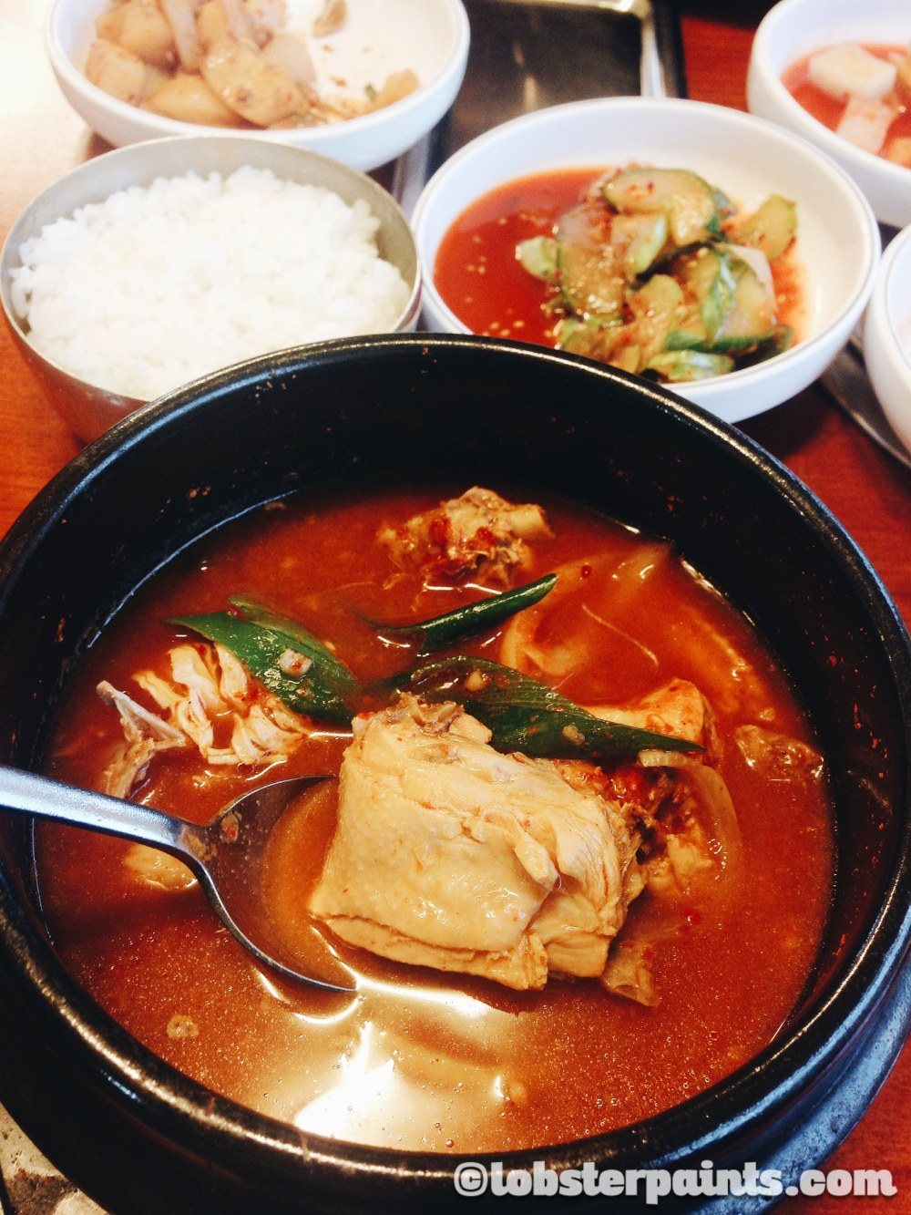 Spicy Braised Chicken 닭볶음탕 | Seoul, South Korea