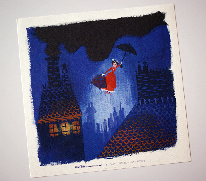 mary poppins lithograph