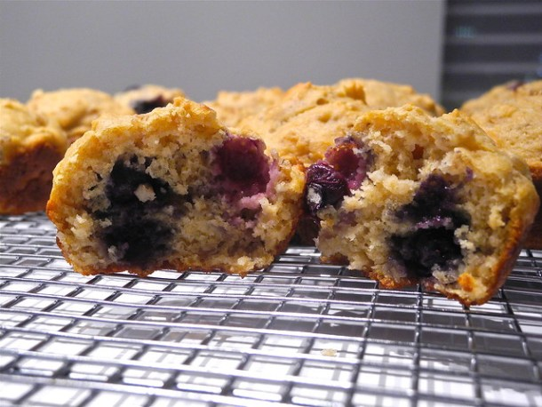 Oatmeal and Blueberry Muffings