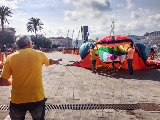 Aquiloni al Porto Antico