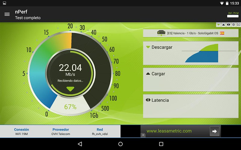 nPerf Speed Test Android