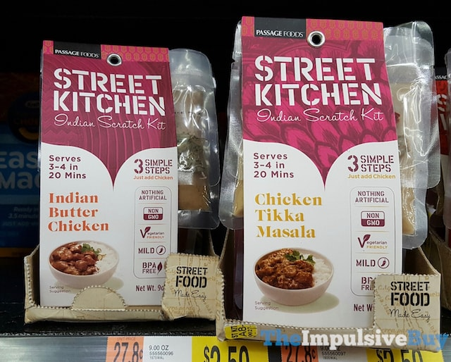 Passage Foods Street Kitchen Indian Scratch Kit (Indian Butter Chicken and Chicken Tikka Masala)