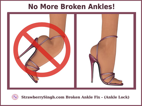 Broken Ankle Fix - Ankle Lock
