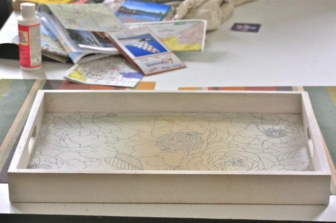 DIY karttatarjotin