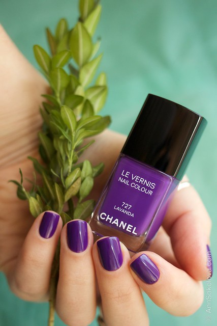 03 Chanel #727 Lavanda swatches