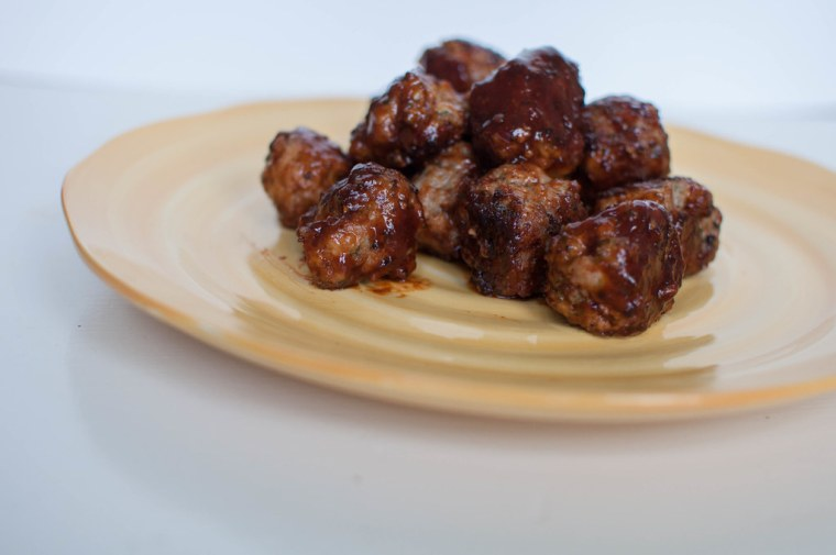 Honey BBQ Pork Meatballs 6