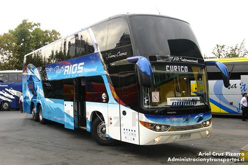 Moraga Tour (Buses Ríos Internacional) - Santiago - Modasa Zeus / Volvo (GYPT48)