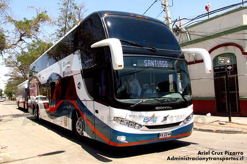 Eme Bus - Santiago - Comil Campione DD / Volvo (FXZZ44)