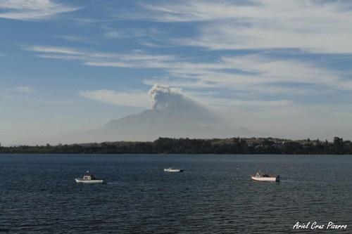 Volcán Calbuco - Lago Llanquihue