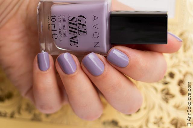 02 Avon 64780 Lavender Sky Лавандове Небо Ann Sokolova swatches
