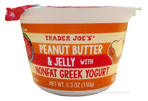 Trader Joe's Peanut Butter and Jelly with Nonfat Greek Yogurt
