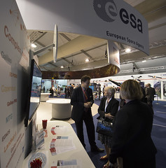ESA pavilion Farnborough 2016