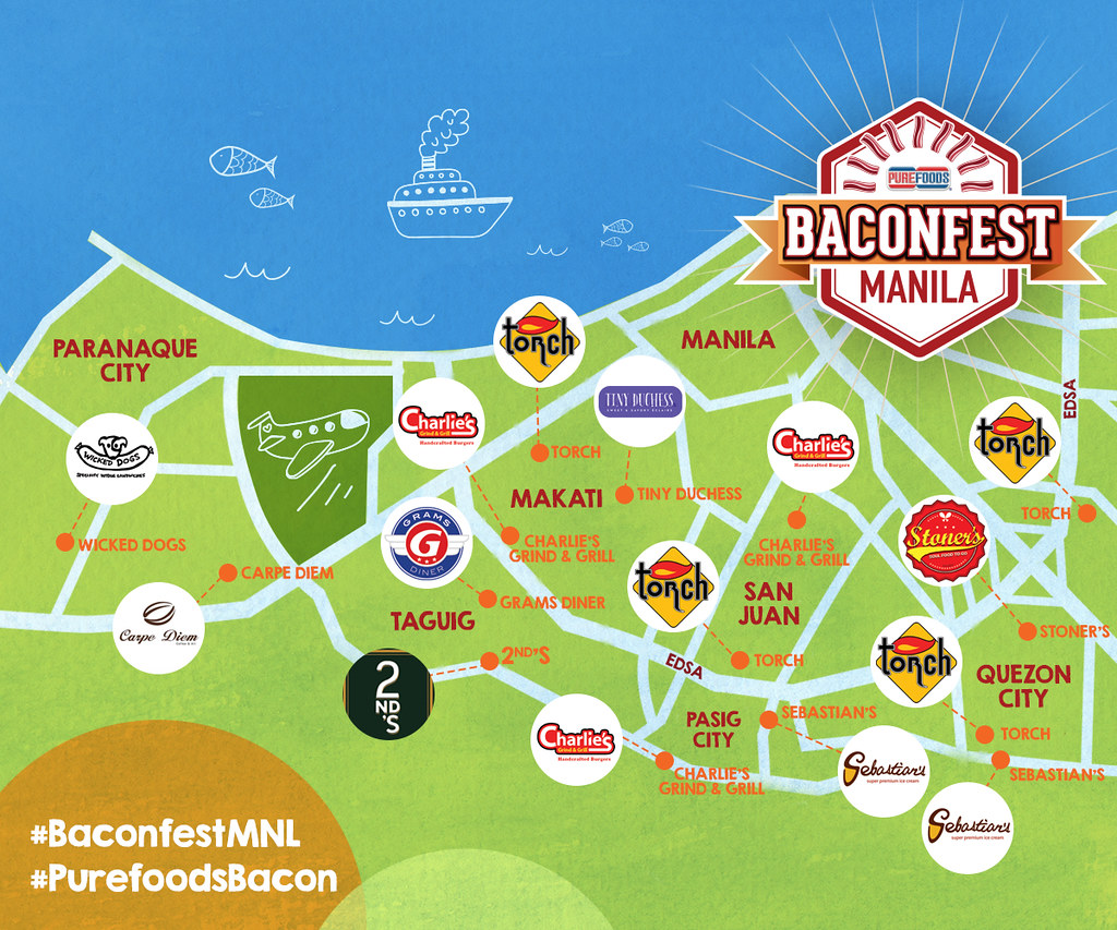 Final BaconfestMNL Map