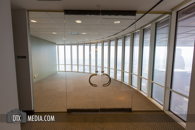 Hines Chase Tower Realty Glass Doors