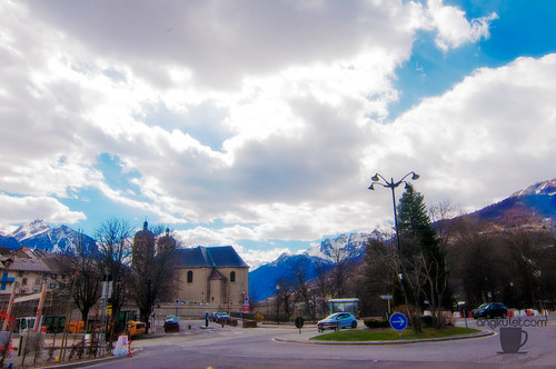 Briançon, France, April 2015