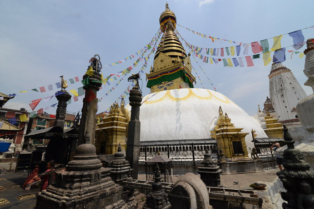 Swayambhunath, best places to visit in kathmandu