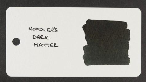 Noodler's Dark Matter - Word Card