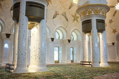 Sheikh Zayed Mosque - Interior II.