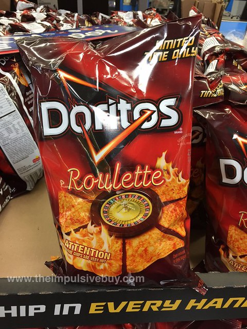 Limited Time Only Doritos Roulette