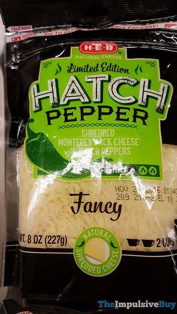H-E-B Limited Edition Hatch Pepper Shredded Monterey Jack Cheese