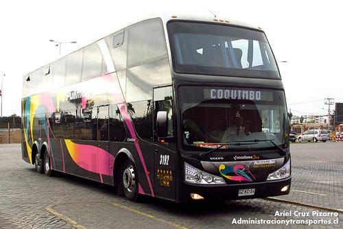 Pullman Bus - La Serena - Modasa Zeus / Volvo (GZKC14)
