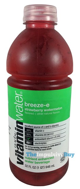Glaceau Breeze-e Strawberry Watermelon VitaminWater