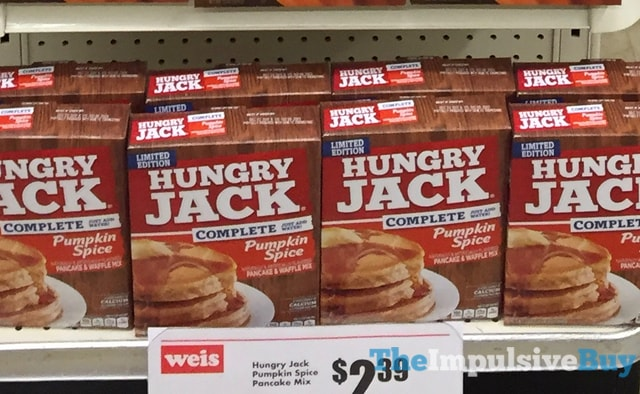 Limited Edition Hungry Jack Pumpkin Spice Pancake & Waffles Mix