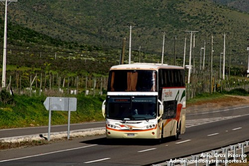 TACC Expreso Norte - Busscar Panorâmico DD / Scania (BWPV88)