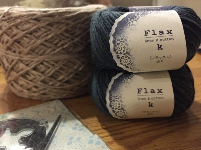 More flax K from Hamanaka web store