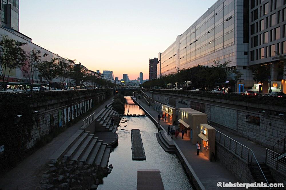 6 October 2014: Cheonggyecheon 청계천 | Seoul, South Korea