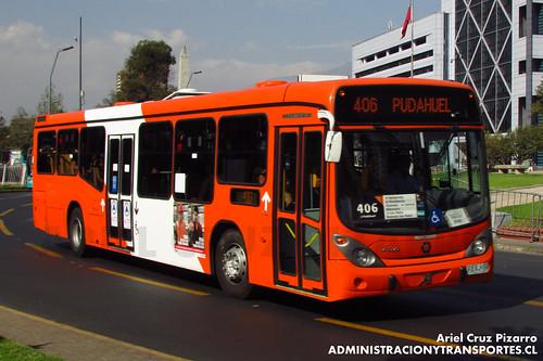 Transantiago - Express de Santiago Uno - Marcopolo Gran Viale / Volvo (FLXJ74)
